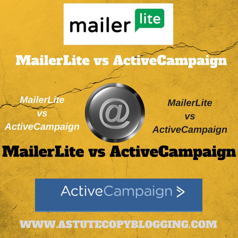MailerLite vs ActiveCampaign