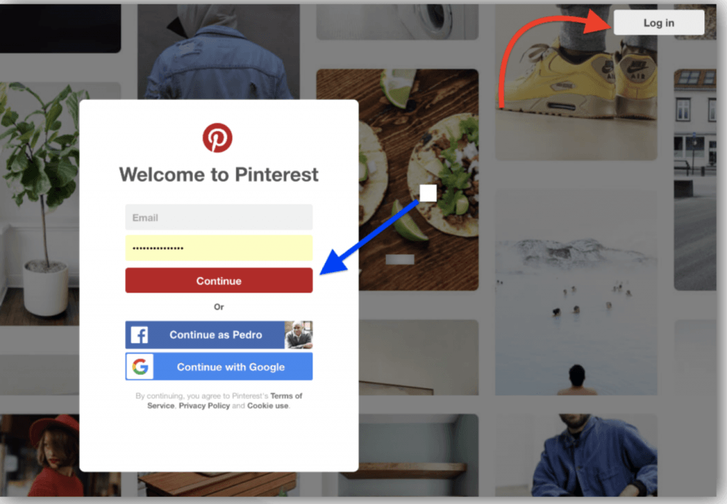pinterest account, manage pinterest account, pinterest email address, switch between accounts pinterest app, how do i combine my pinterest accounts
