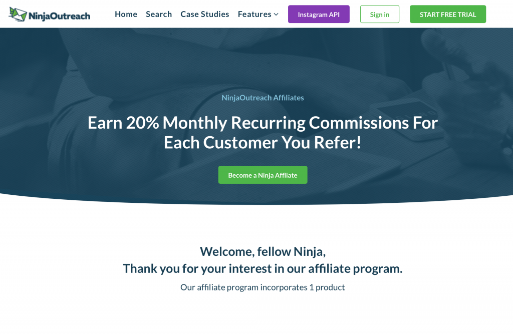 NinjaOutreach affiliate program. The best recurring affiliate programs 2019. The top residual income affiliate programs. The best recurring affiliate products. The top lifetime affiliate programs. The best affiliate programs for beginners. The best affiliate programs to make money