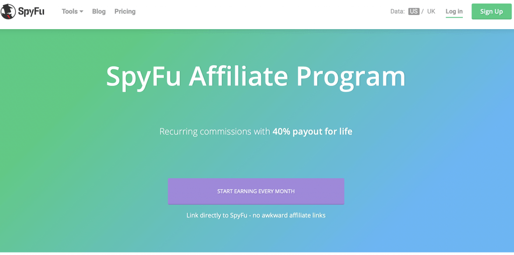 SpyFu affiliate program.The best recurring affiliate programs 2019. The top residual income affiliate programs. The best recurring affiliate products. The top lifetime affiliate programs. The best affiliate programs for beginners. The best affiliate programs to make money