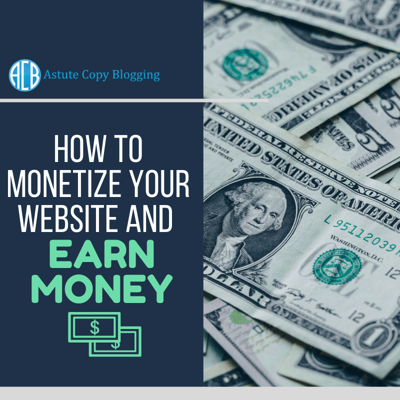 How to monetize your website and earn money