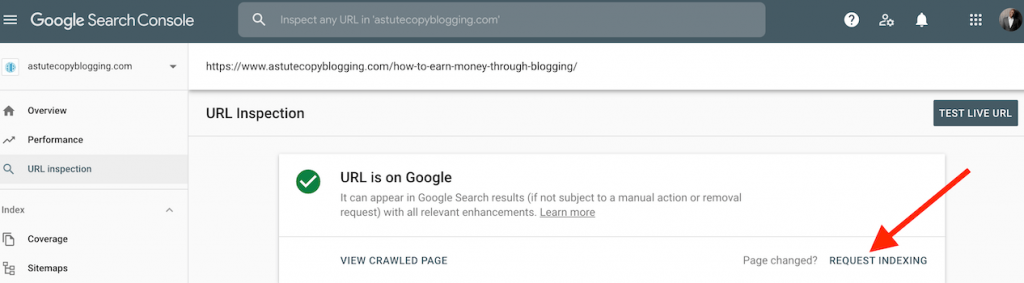 quest indexing - seo for dummies