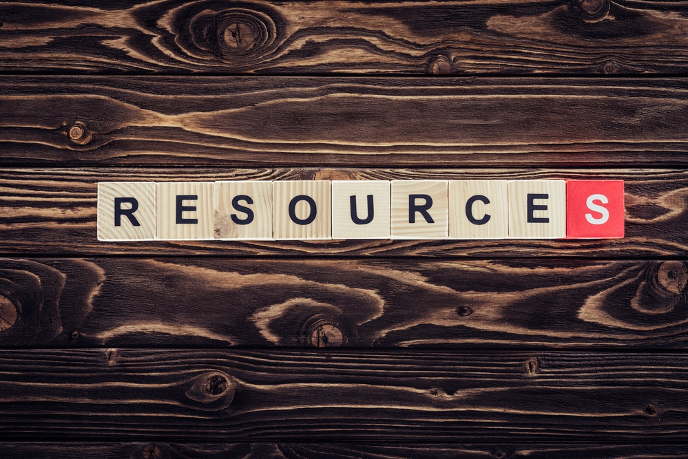 Tools and resources, recourses