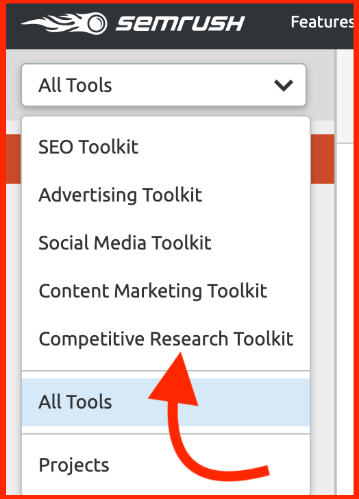 ahrefs vs semrush - senrush toolkit