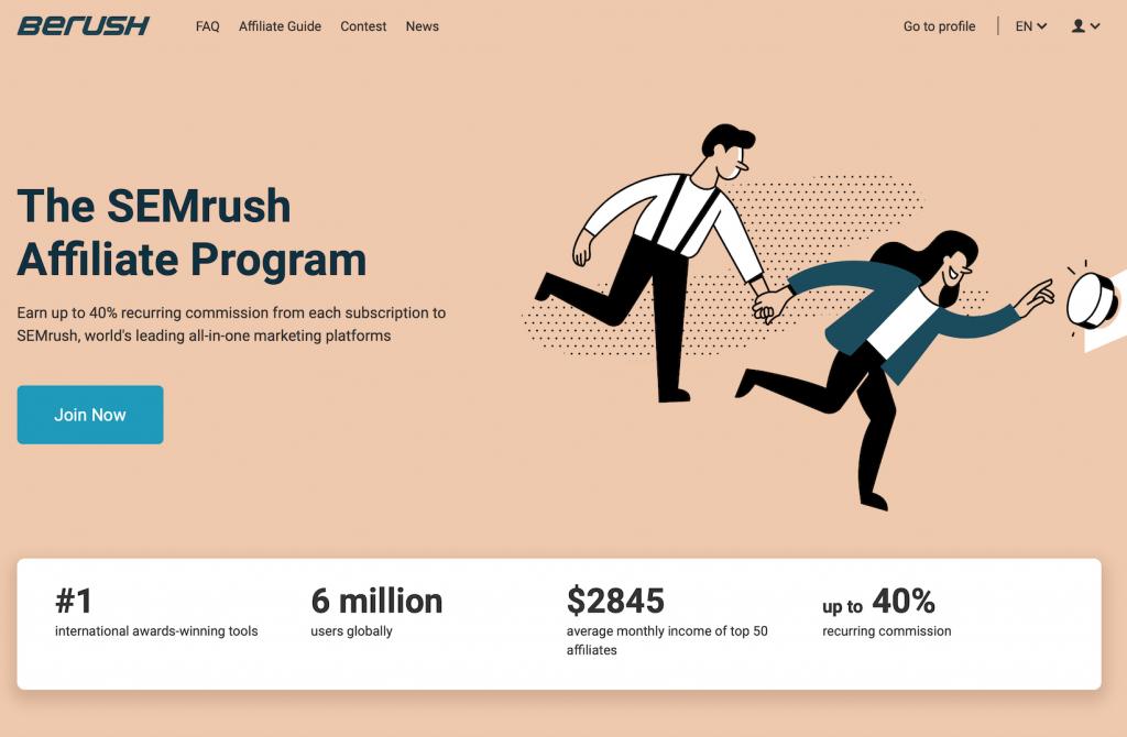 Breush-the-semrush-affiliate-program-review