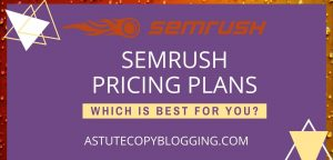 SEMrush pro vs guru vs business - SEMrush pricing plans