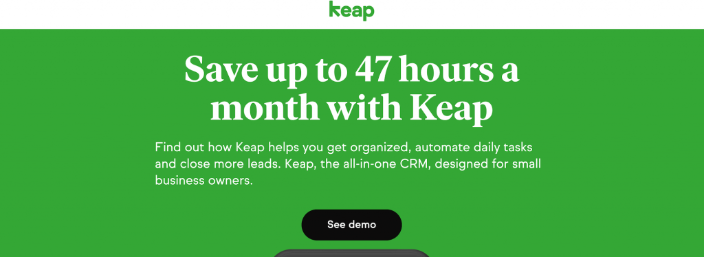 keap - top sales funnel builders
