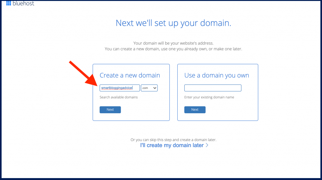 How to start a blog and earn a living domain name