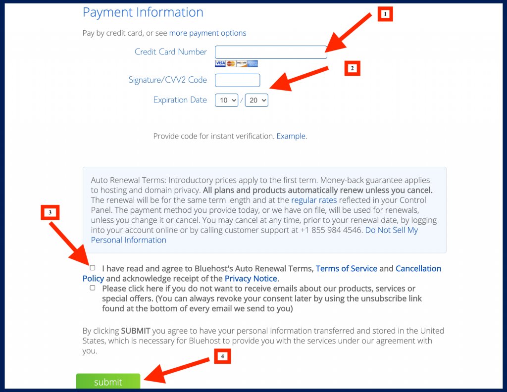 How to start a blog and earn a living payment details
