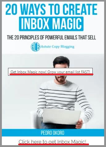 10 clickable image notice