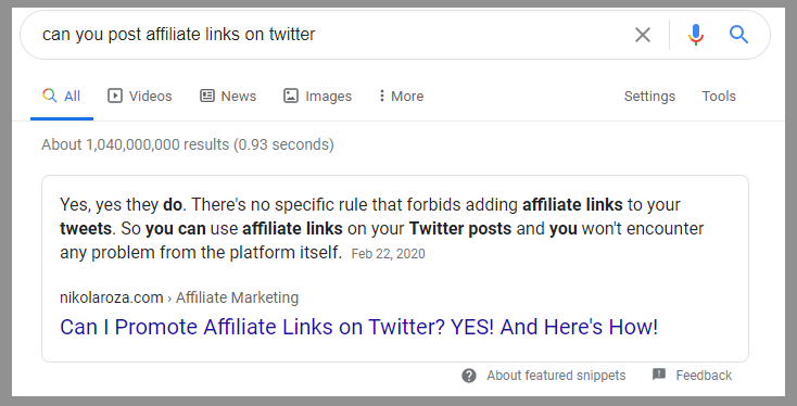 16 twitter allows affiliate links 1