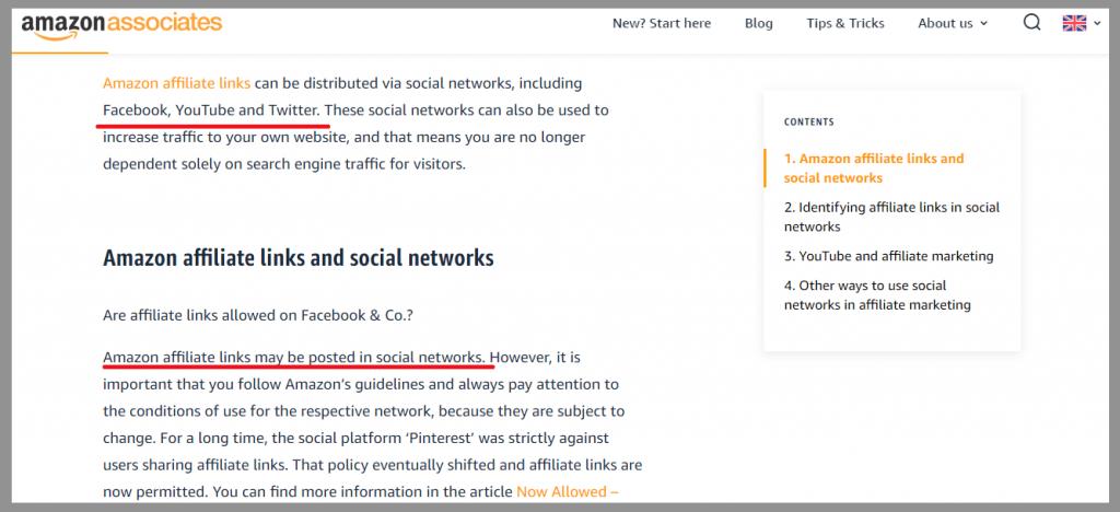 29 amazon associates social affiliate link promotion