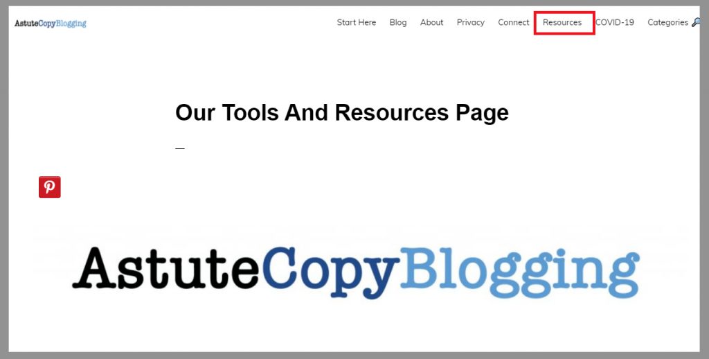 astute-copy-blogging-resource-page