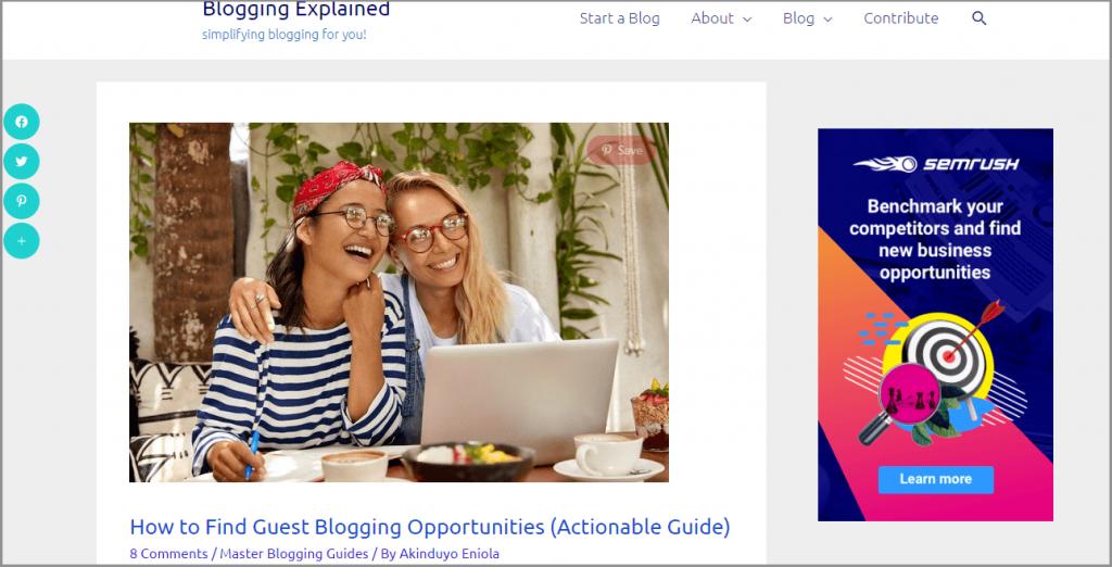 6 banner ads affiliate link promotion