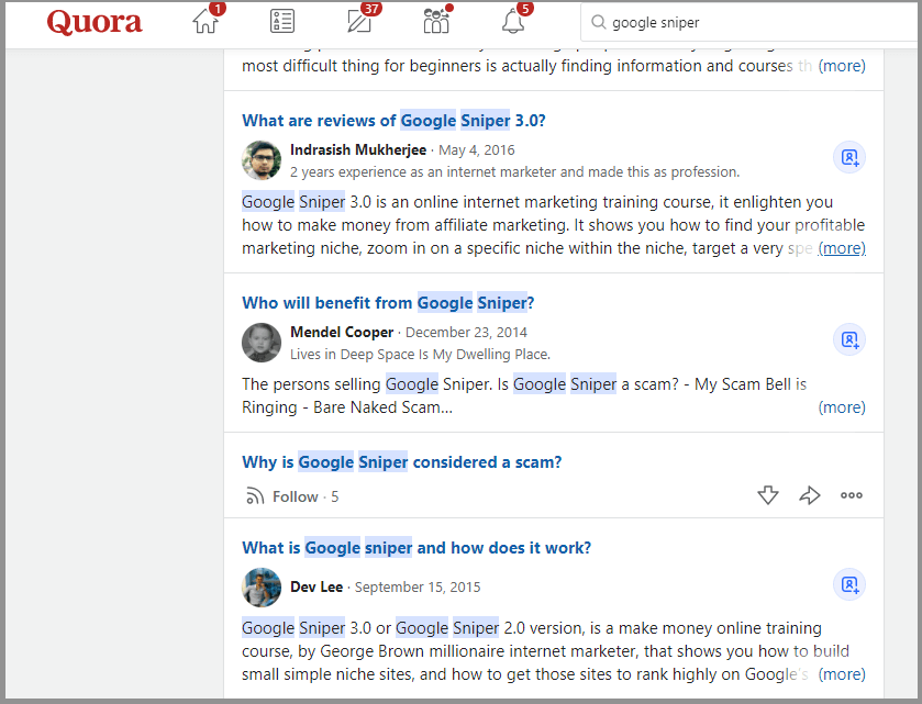 google-sniper-scam-affiliate-marketing-strategies