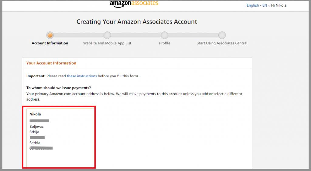 3 amazon associates account info amazon referral links