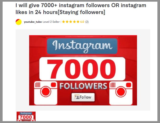 3 buy instagram followers fiverr influencer affiliate marketing