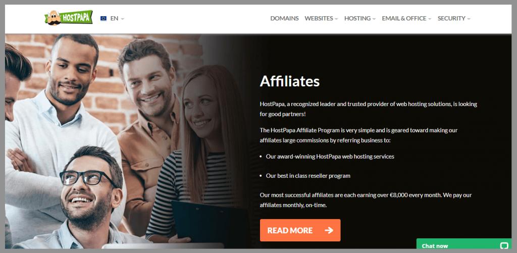 36 hostpapa affiliate program wordpress affiliate programs