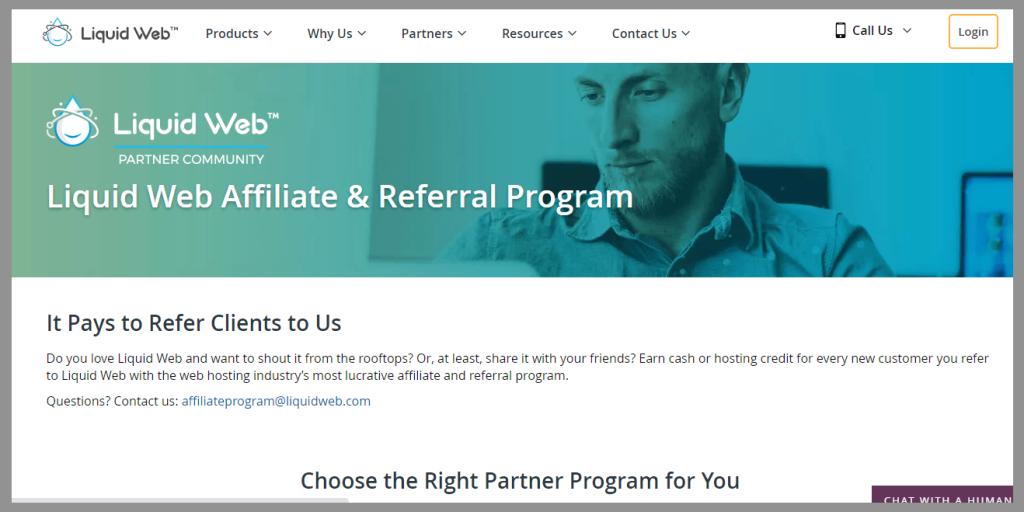 39 liquid web affiliate program wordpress affiliate programs