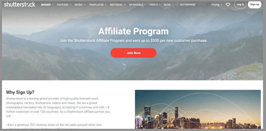 41 shutterstock affiliate program wordpress affiliate programs