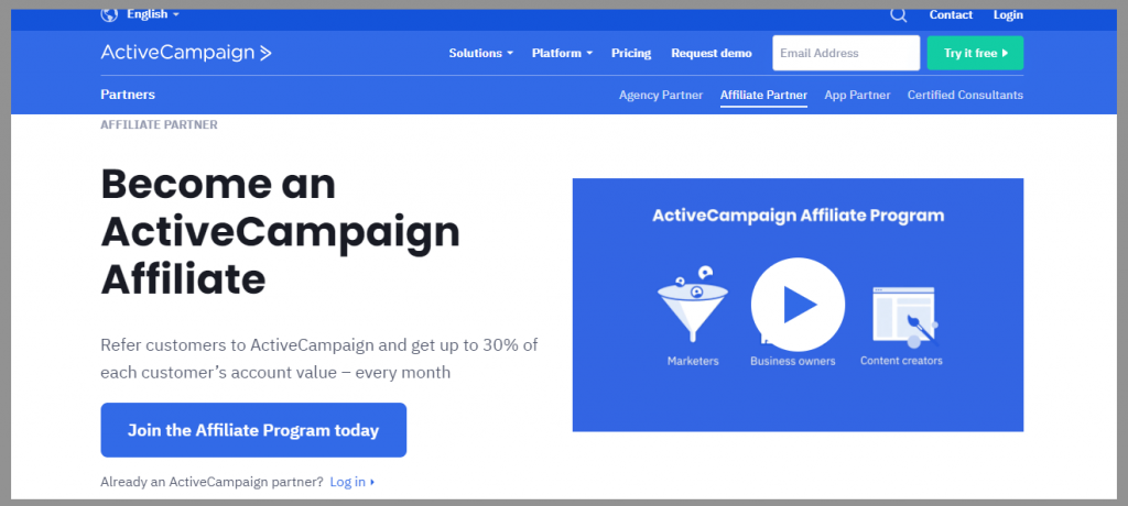49 active campaign affiliate program wordpress affiliate programs
