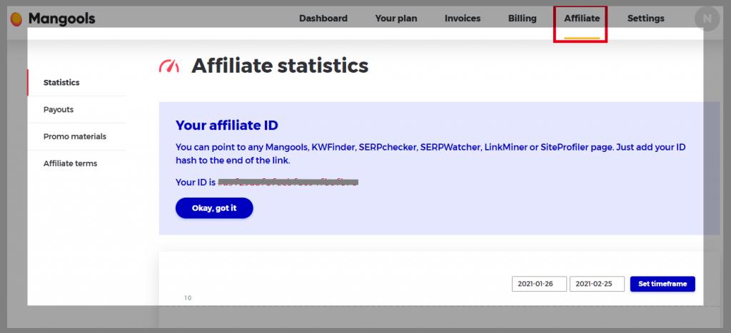 52 kwfinder affiliate dashboard wordpress affiliate programs