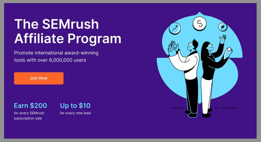 53 semrush affiliate program wordpress affiliate programs