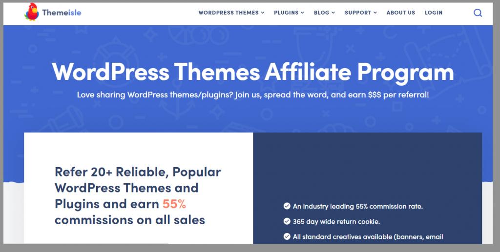 6 themeisle affiliate program wordpress affiliate programs