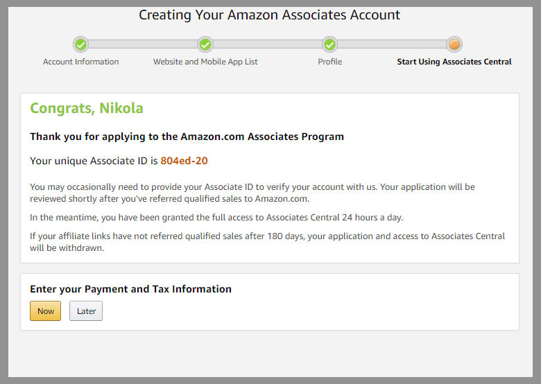 amazon-associates-signup-amazon-referral-links