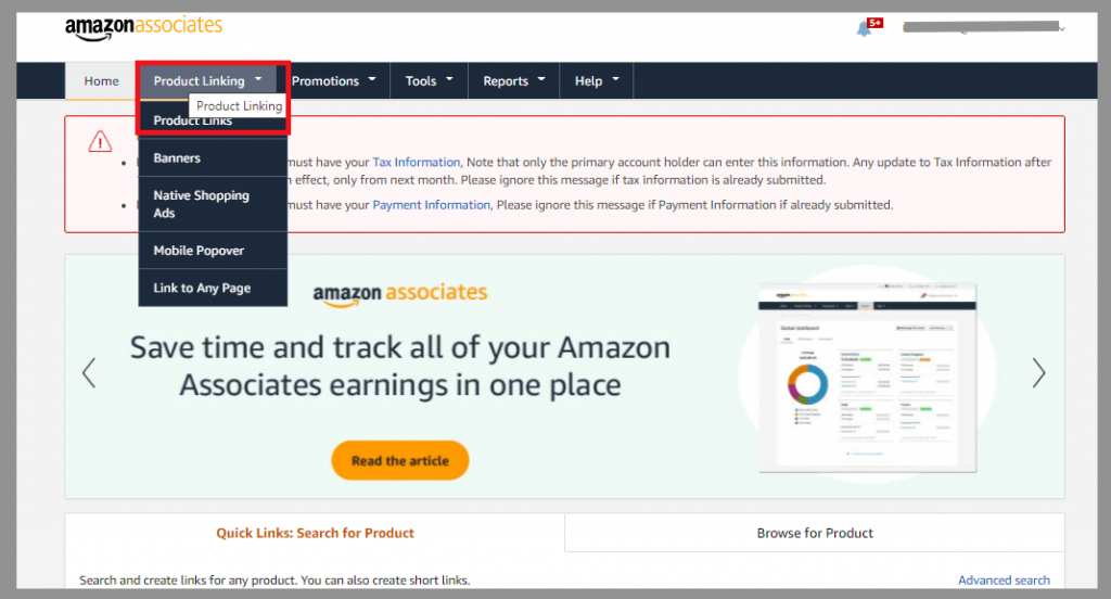 8 product links amazon referral links