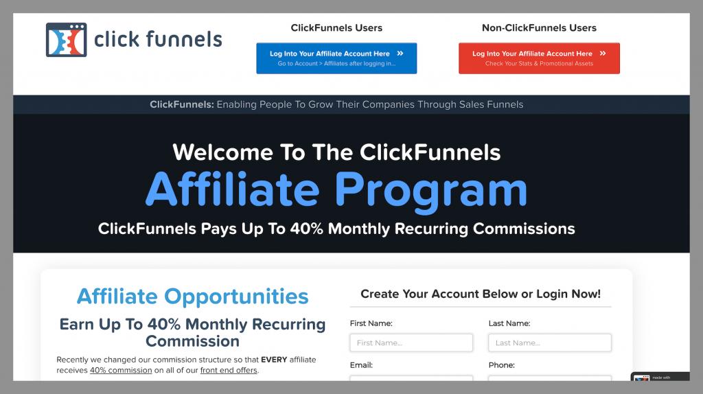 Clickfunnels-best-recurring-affiliate-programs