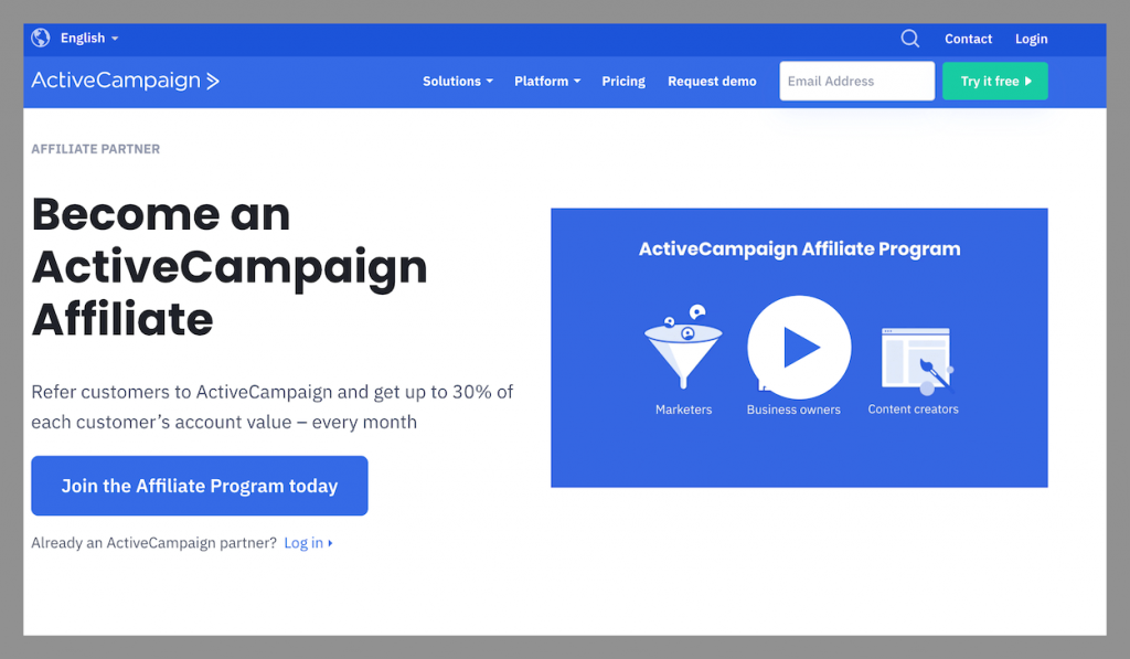 active campaign best recurring affiliate commissions