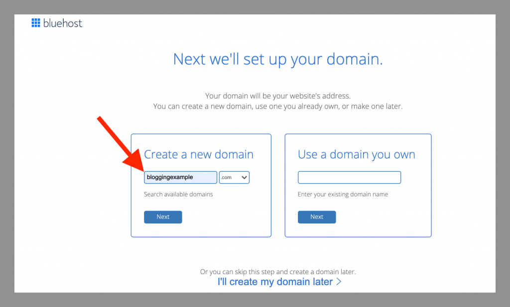 bluehost-self-hosted-wordpress-blogging-example