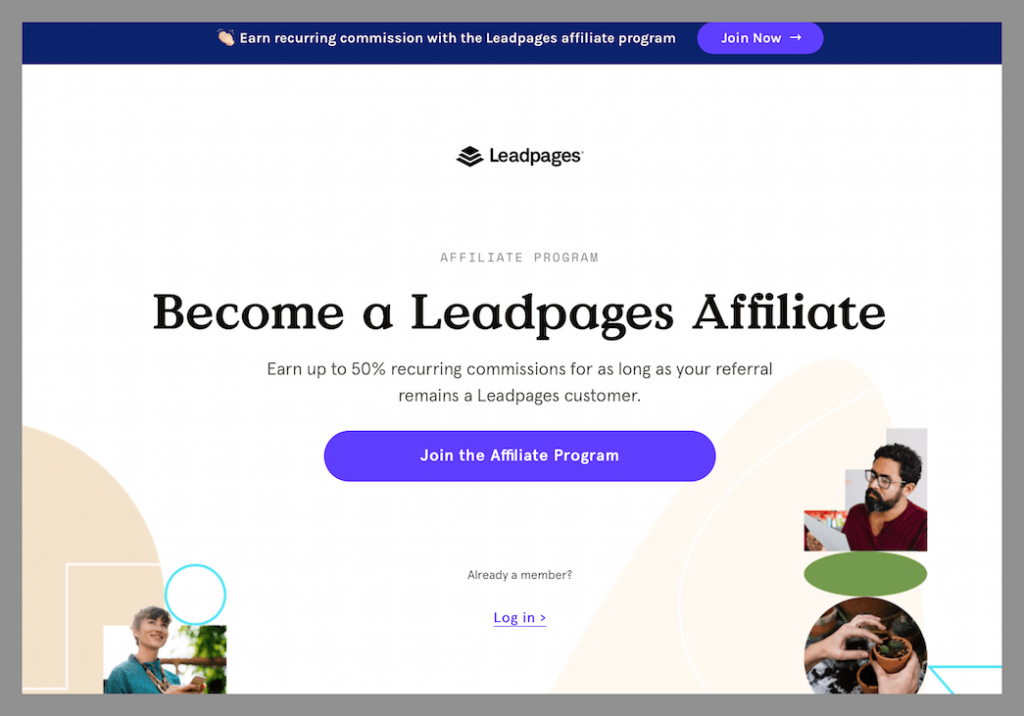 lead-pages-best-recurring-affiliate-program
