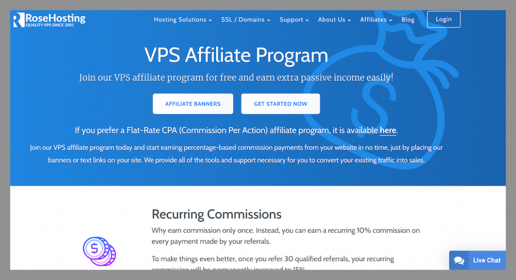 rosehosting-affiliate-program-with-recurring-commissions