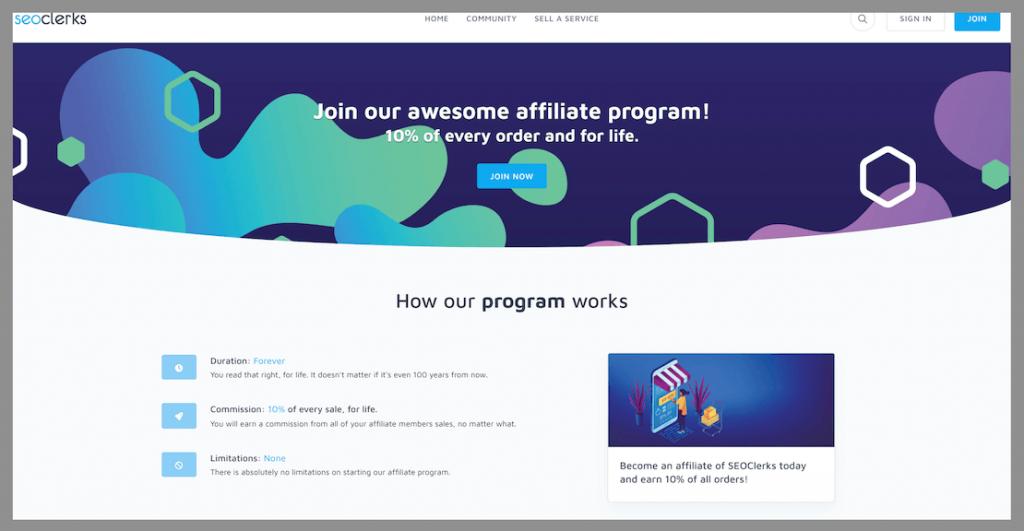 seoclerks-recurring-affiliate-commission