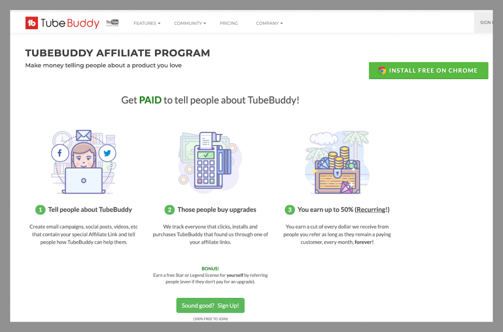 tubebuddy-recurring-affiliate-commission