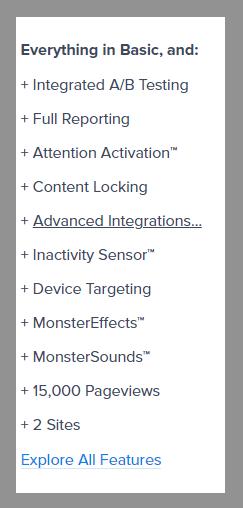 5 optinmonster plus plan optinmonster review best lead generation tool